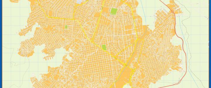 Mapa Cucuta