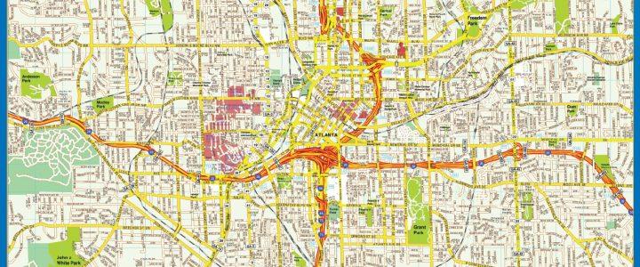 Mapa de Atlanta