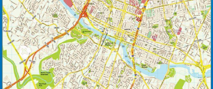 Mapa de Austin