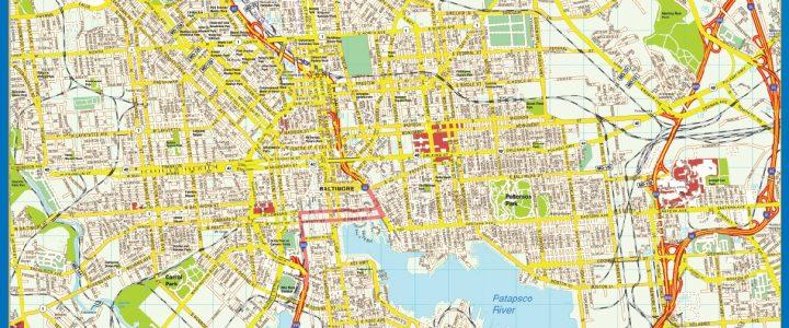 Mapa de Baltimore