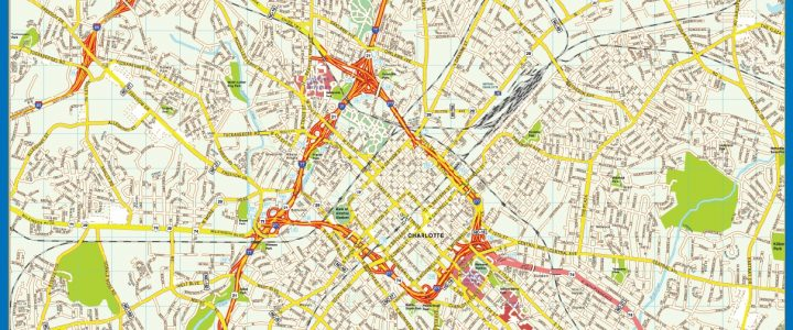 Mapa de Charlotte